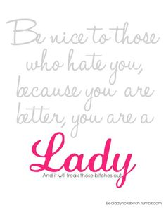 quotes about bullying   ... quote quotes typography nice mean bully bullying better hate haters