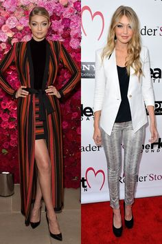 LEFT outfit I want.   Now: At Maybelline New York's 100th Anniversary celebration Then: At the Heart Foundation Gala in 2012   - ELLE.com