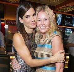 Sandra Bullock and Chelsea Handler