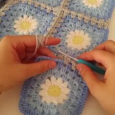 Love scrap use maybe that happens to all old knitters and crocheters lol jh crochet fox crochet gifts love crochet crochet granny crochet squares crochet lace crochet motif crochet stitches crochet patterns – ArtofitCal crochet in boom flower squar Crochet Motifs, Granny Square Crochet Pattern, Crochet Blocks, Crochet Squares, Crochet Flower Patterns, Crochet Blanket Patterns, Crochet Flowers, Crochet Stitches, Knitting Patterns