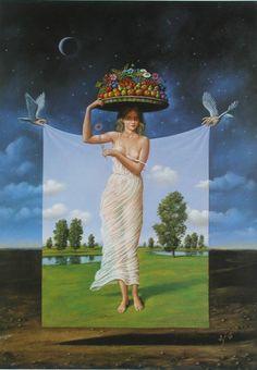 Rafal Olbinski Polish Surrealist