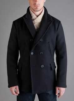 Alex Kang — Billy Reid // Bond Peacoat What a beautiful coat! Look Fashion, Mens Fashion, Fashion Ideas, Fashion Updates, Billy Reid, My Guy, James Bond, Outfit, Style Me