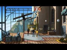 Taking care of the guard in #BrokenSword5 | Rachybop