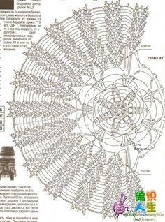 This pattern is the beginning of a vest, but if you continue around, I think it… Crochet Doily Diagram, Crochet Doily Patterns, Crochet Chart, Thread Crochet, Filet Crochet, Crochet Motif, Crochet Designs, Crochet Stitches, Knit Crochet