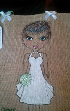 Find on ebay mels personalised jute bags Personalised Jute Bags, Jute Shopping Bags, Wedding Bag, Ebay, T Shirts