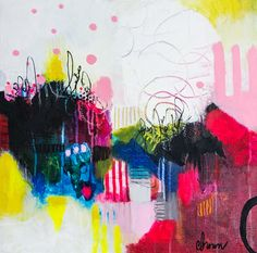 Cynthia Anne Brown an abstract painter located in Tulsa, Oklahoma