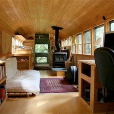 School's Out Forever: 12 Crazy DIY Converted Bus Homes | 2 | Urbanist
