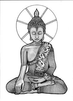 buddha zentangle - Google Search
