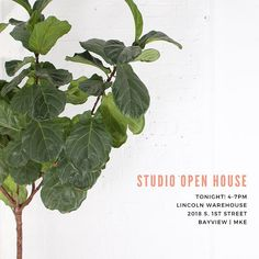 Hey Milwaukee - Our building is having an open house tonight! Come by for food drinks and to check out the work of some of MKE's best small business owners!  #madeinmilwaukee #milwaukee #behindthescenes