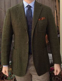Belvest Barba Vintage Madder Vintage J. Der Gentleman, Gentleman Style, Mens Fashion Suits, Mens Suits, Tweed Men, Tweed Suits, Ivy Style, Sharp Dressed Man, Suit And Tie