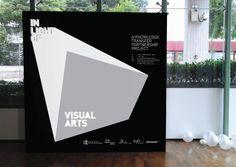 In Light of Visual Art by TGIF, via Behance