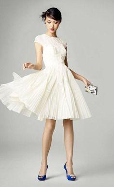Свадебные короткие платья лето 2016…
