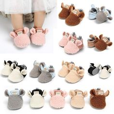 Item Type: Baby Slippers Closure Type: Slip-On Lining Material: Cotton Fabric Package Includes: 1 x Pair Size Age Length (cm / inch) 11 Month 11 / 12 Month 12 / 13 Month 13 / Fluffy Animals, Baby Animals, Cute Lamb, Cute Baby Shoes, Baby Shoe Sizes, Cheap Boots, Baby Slippers, Baby Boots, Crib Shoes