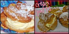 MOM'S FAMOUS CREAM PUFFS! - Hugs and Cookies XOXO