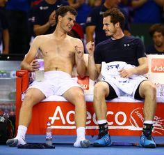 Jamie Murray Photos: Great Britain v Australia Davis Cup Semi Final 2015 - Day 2