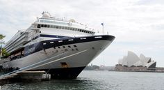 The Celebrity Century in port in Sydney, cruised from Barcelona, cruise cancelled in France, resumed Barcelona to Ft. Lauderale