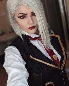 Anime Cosplay Ashe from Overwatch by fenrirprime - - More memes, funny videos and pics on Belle Cosplay, Cosplay Lindo, Cute Cosplay, Amazing Cosplay, Cosplay Outfits, Cosplay Girls, Cosplay Anime, Cosplay Makeup, Cosplay Mignon