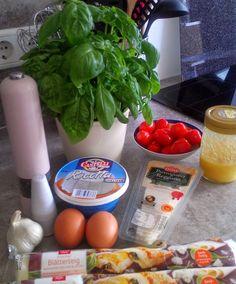 Leckermäulchen 20 - Herzhafter Tomatenkuchen.