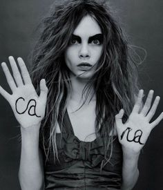 The new top models: Cara-Delevingne and more