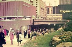Station exit from the Golden Acre Mall 1977. | Etienne du Plessis | Flickr