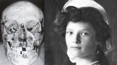 Tatiana's skull (discovered in the 1990s)