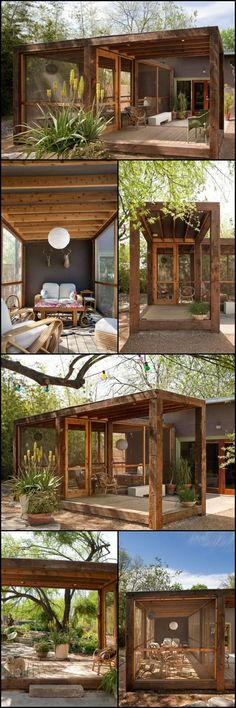Imagine a warm, balmy night, good friends, a glass of wine and a soft breeze as you enjoy the outdoors. Sounds wonderful until the bugs start joining the party. Here's a very nice solution that adds a lot of usable space without breaking the bank account. http://architecture.ideas2live4.com/2015/08/08/the-poteet-loft-porch/ An outdoor room is a great way to enhance your lifestyle and the value of your home. It needn't cost a fortune as this example shows.