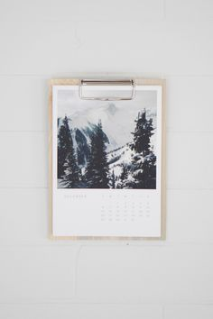 The gift that lasts all year | Wood Calendar Artifact Uprising Edition