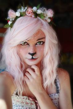 Faun, or other animal of choice - Liking the delicate colouration, but it needs horns,ears or both.