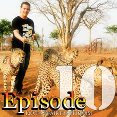 This Wandering Trader is THE MOST MOTIVATIONAL force if you want to chase your dreams. When he is not jetsetting around the world, HE IS WALKING HIS CHEETAHS!