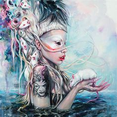Yolandi The Rat Mistress - Print / Tanya Shatseva