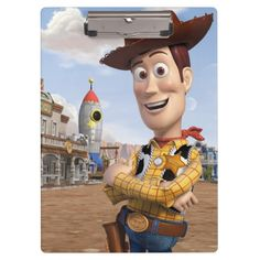 #toysstory Toy Story 3 - Woody 3 Clipboard