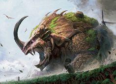 Behemoth, em idioma hebraico transcrito como בהמות, Bəhēmôth, Behemot, B'hemot; em Árabe بهيموث (Bahīmūth) ou بهموت (Bahamūt),[1] é o nome de uma criatura descrita na Bíblia, no Livro de Jó, 40:15-24. Sua descrição é tradicionalmente associada à de um monstro gigante, podendo ser retratado como um leão monstruoso, apesar de alguns criacionistas o identificarem como um saurópode ou um touro gigante de três chifres. Em uma outra análise vemos este como um animal pré-histórico muito conhecido…