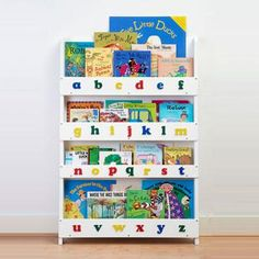 Front facing bookcase from Tidy Books