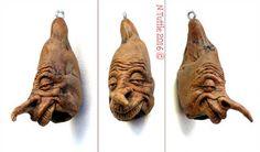 My Newt by psychosculptor on DeviantArt Wood Carving Art, Wood Art, Wood Carvings, Clay Faces, Driftwood Crafts, Wood Sculpture, Sculpture Ideas, Whittling, Body Art Tattoos