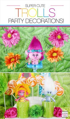 185 Best Trolls Birthday Party Images