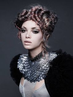 North American Hairstyling Awards (NAHA) 2016 Texture NAHA Finalist Michelle O'Connor The Salon by In Style JCPenney Photographer: Roberto Ligresti Wardrobe ...