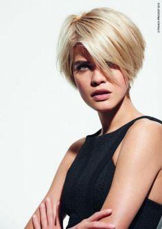 modele coiffure femme carre boule