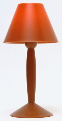 """Miss Sissi Table Lamp  Philippe Starck (French, born 1949) 1991. Injection-molded high temperature polycarbonate, 11 1/8 x 5 3/4"""" (28.3 x 14.6 cm). Manufactured by FlosUSA, Huntington Station, NY. David Whitney Collection, Gift of David Whitney"""