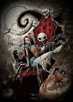 Jack The Nightmare Before Christmas by Marcelo Ventura