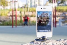 Keychain iPhone tripod? YES! But only if it works with the forthcoming iPhone 5... waiting