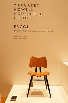Margaret Howell part black ercol butterfly chair by Ercol Furniture, via Flickr