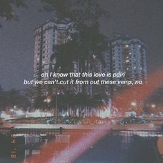 Let's Hurt Tonight - One Republic Tumblr Quotes, Lyric Quotes, Grunge Quotes, Aesthetic Words, Some Quotes, Wallpaper Quotes, Beautiful Words, Quotations, Qoutes