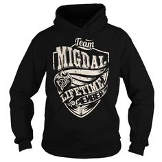 Team MIGDAL Lifetime Member (Dragon) - Last Name, Surname T-Shirt