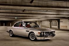 Internet Find of the Week: BMW E9 3.5 CSi  http://www.automotiveaddicts.com/9375/internet-find-of-the-week-bmw-e9-3-5-csi