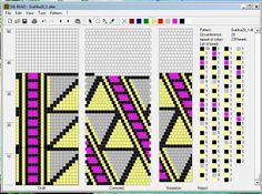 BeadedCrochet_GeometricSchemes - Mariam Nahapetyan 20 around