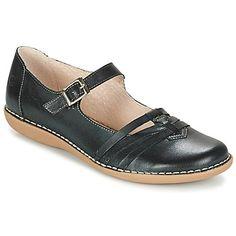 La bailarina entra a formar parte de nuestra colección de zapatos preferidos gracias a este modelo de la marca Casual Attitude. Las más coquetas se dejarán conquistar por la estética del modelo Geraldine en negro. - Color : Negro - Zapatos Mujer 72,00 €