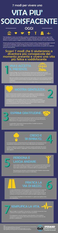 7 modi per vivere una vita soddisfacente | IperMind