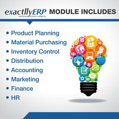 An all-in-one ERP software to meet the varied needs of every department of your organization.