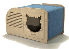 Cat Dog Cartoon, Dog Cat, Cat Furniture, Plywood Furniture, Mdf 15mm, Cardboard Cat House, Cat Cave, Cat Room, Cnc Projects