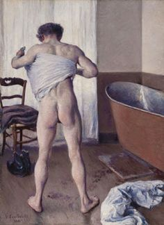 Gustave Caillebotte - Man at His Bath – 1884